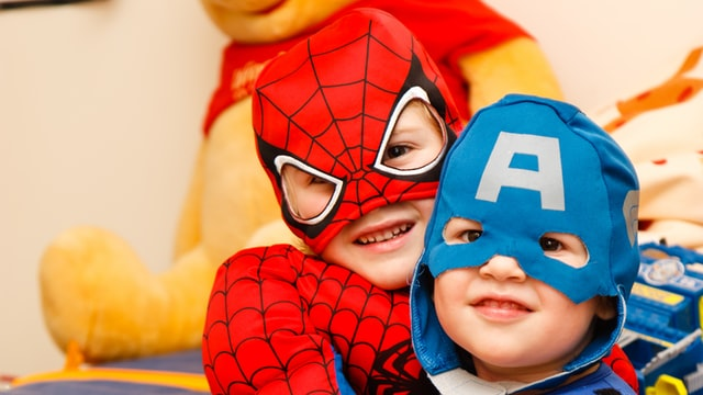 Benefits of playing dress-up with kids
